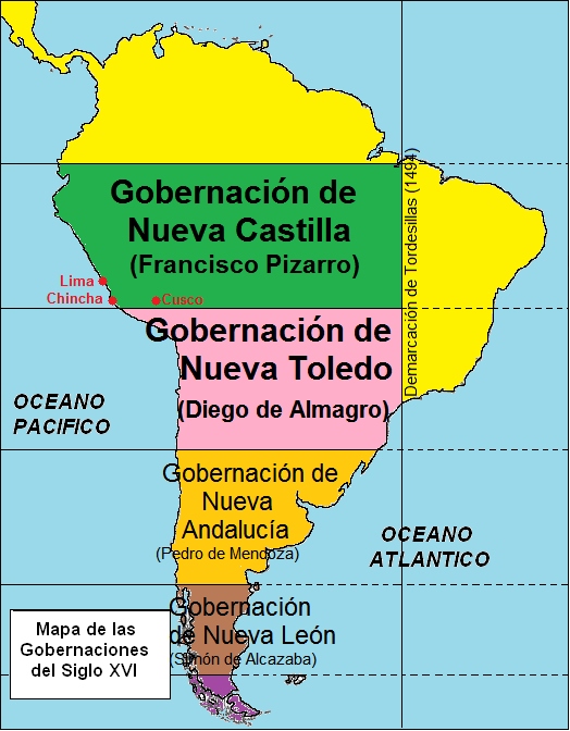 Pizarristas vs Almagristas. La Guerra Civil en Perú (I) 1