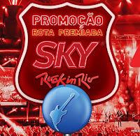 Promoção Rota Premiada SKY Rock in Rio skyrockinrio.com.br