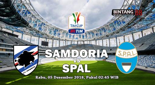 Prediksi Sampdoria vs SPAL 05 Desember 2018