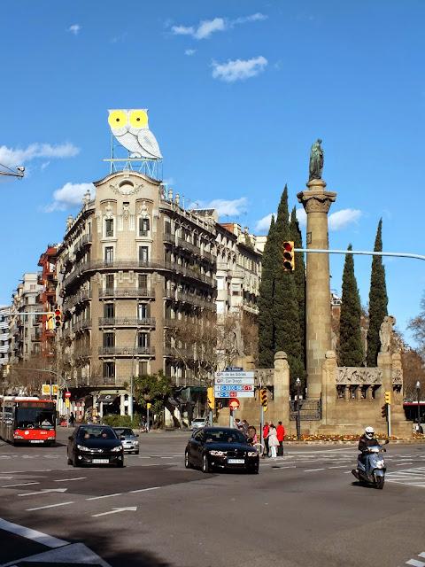 un paseo por la Diagonal de Barcelona