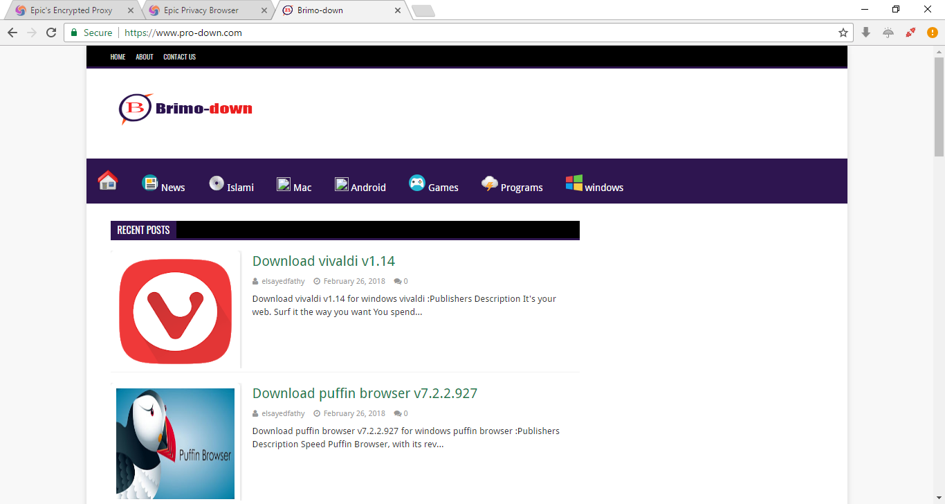 Download Epic Privacy Browser v62 0 3202 94 - Brimo-down