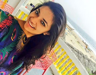 Keerthy Suresh with Cute Looking Expressions
