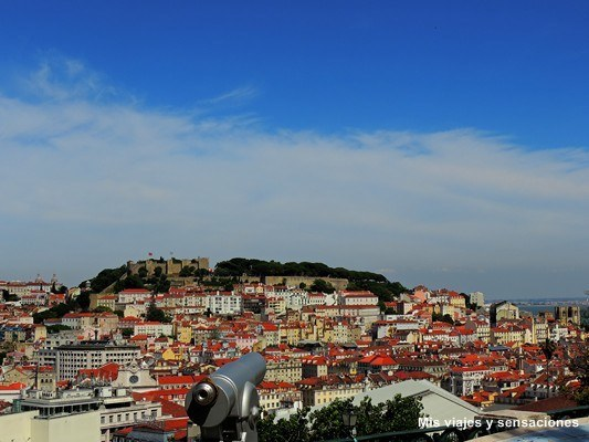 Mirador de San Pedro de Alcántara, Barrio Alto, Lisboa