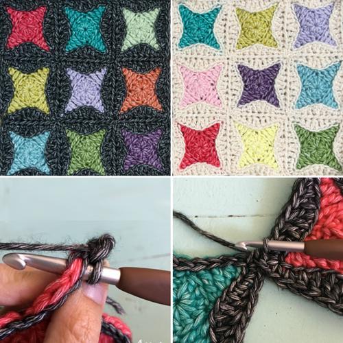 Nova Star Crochet Square - Tutorial