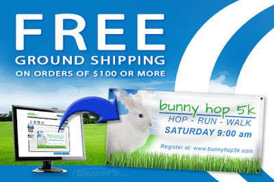 Free Ground Shipping through 2/19/16 | Banners.com