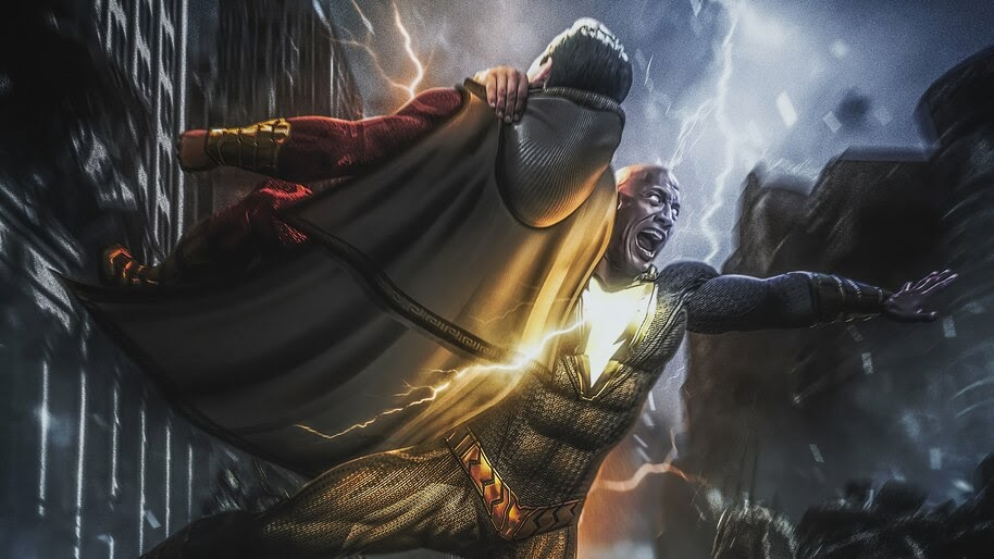 Black Adam vs. Shazam, Movie, 4K, #3.2599