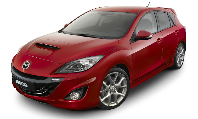 New  Planing Mazda To Expand MPS scope front view