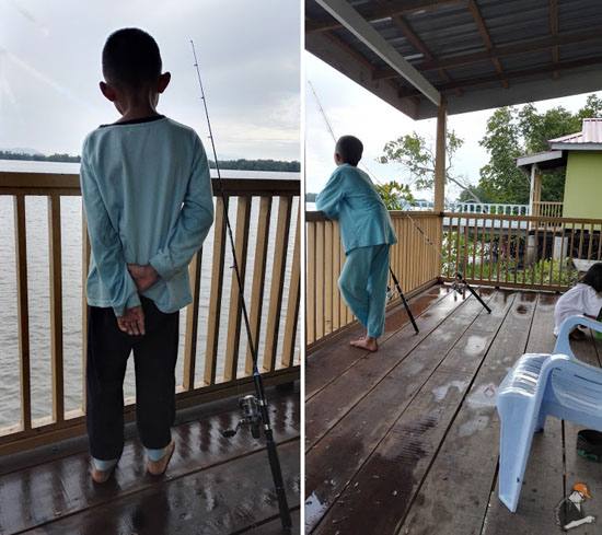 Akhirnya Berjaya Naikkan Siakap Muara Sungai Manjung, Setiawan