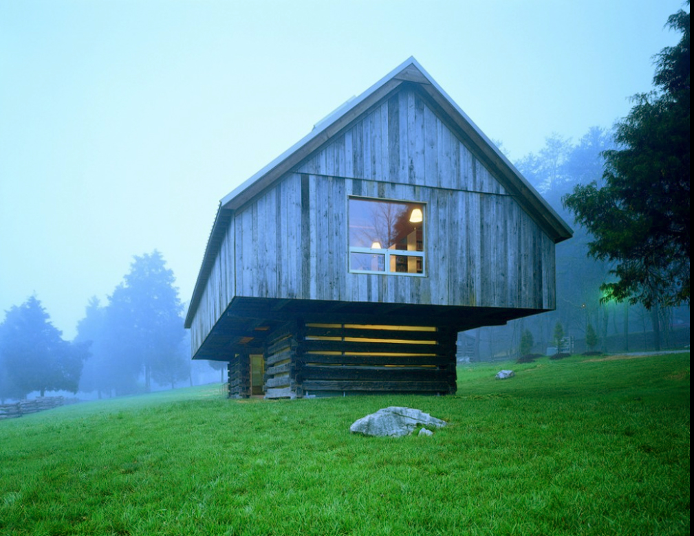 cheap for discount 80b67 605b1 Barn architecture in Tennessee  Langston Hughes Library by Maya Lin