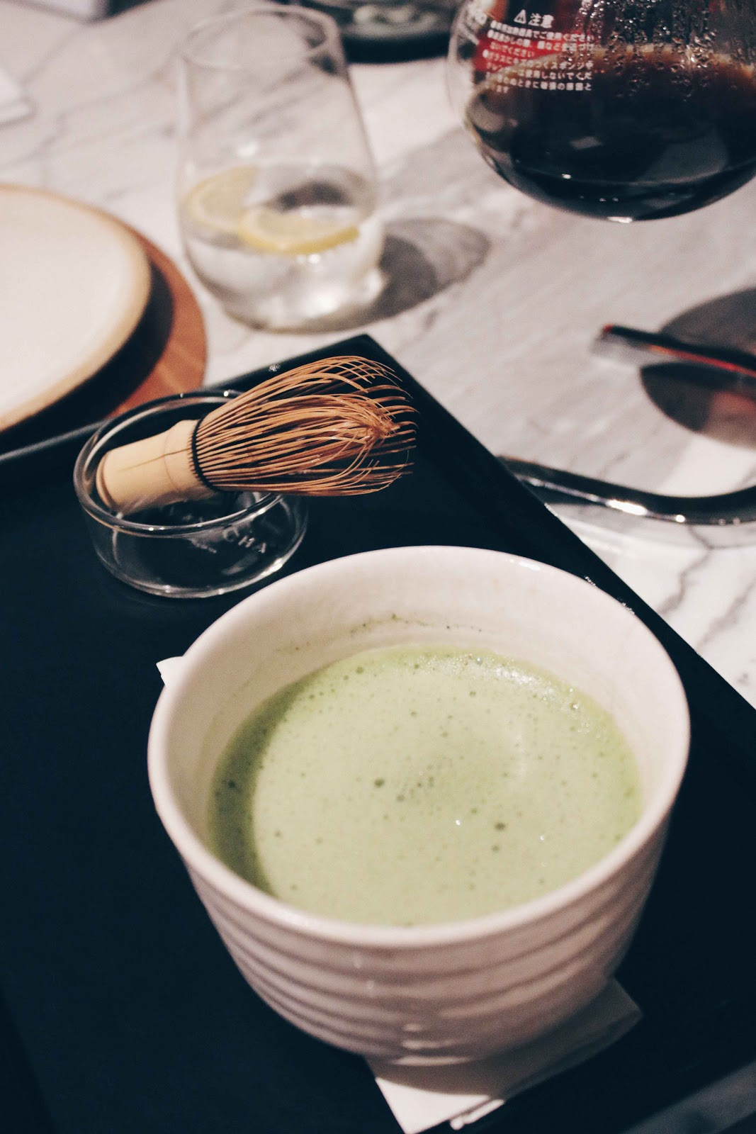 matcha tea food photo