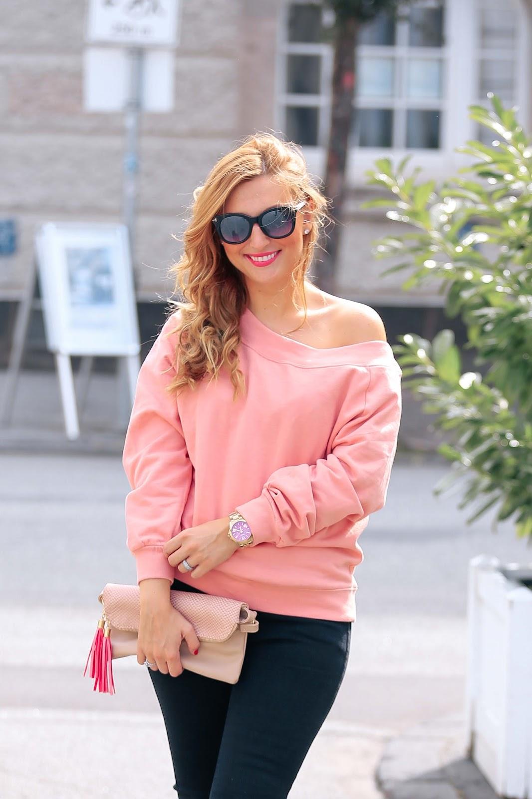 casual-blogger-style-schwarze-jenas-rosa-pulli-fashionstylebyjohanna-blogger-aus-frankfurt