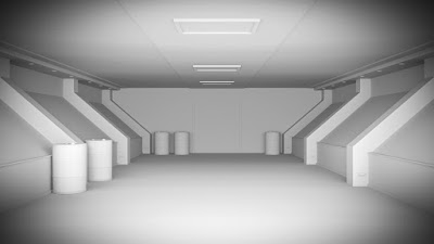 Radioactive Corridor Interior