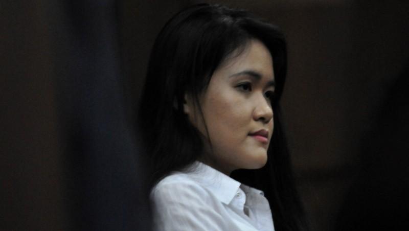 Ekspresi Jessica Kumala Wongso saat mengikuti sidang