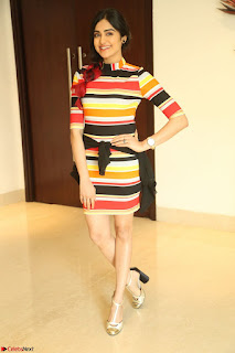 Adha Sharma in a Cute Colorful Jumpsuit Styled By Manasi Aggarwal Promoting movie Commando 2 (136).JPG
