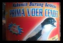 Voer Pakan Burung Cendet