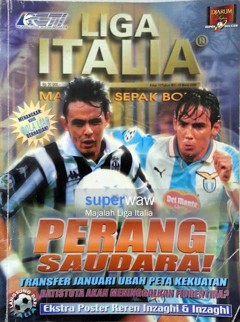 Majalah LIGA ITALIA (PERANG SAUDARA!)