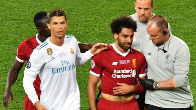 Dubban mutane na son a hukunta Sergio Ramos kan Mo Salah