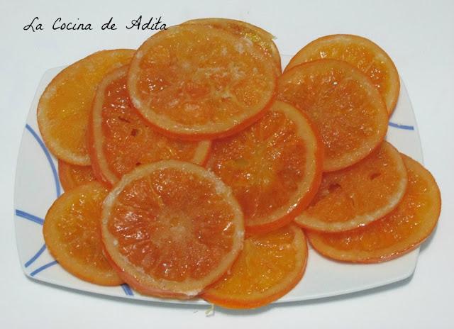 Naranja escarchada