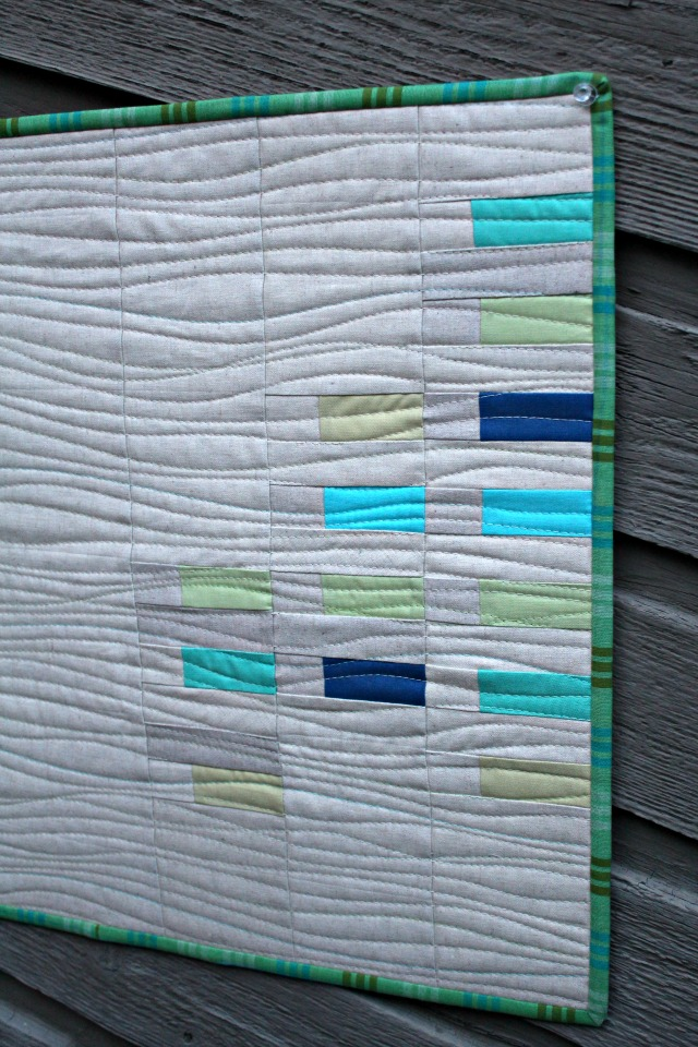 A quilter 39 s table 2016 finish a long tutorial organic for Html table lines