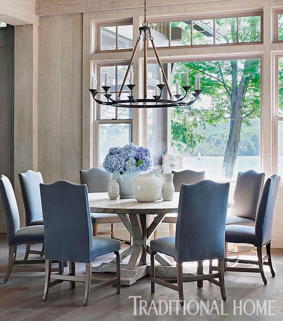 The Beauty Of Round Dining Tables And Some Fun Entertainment Classic Casual Home