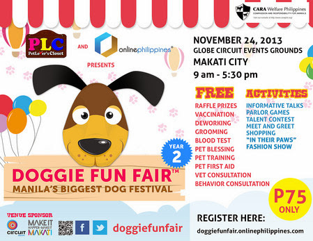Doggie Fun Fair: Manila's Biggest Dog Festival Year 2