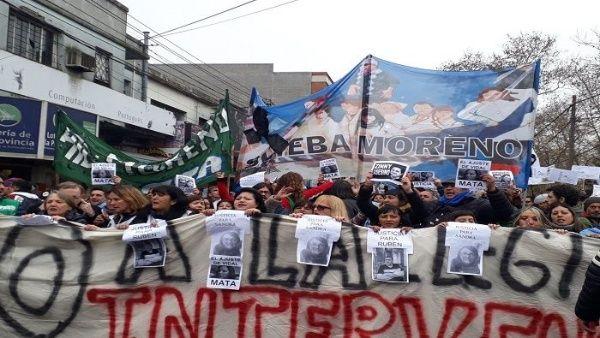 Responsabilizan al Estado argentino por muerte de maestros