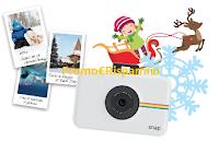 Logo Con Bucaneve Doria vinci Polaroid Snap e un viaggio in Lapponia per tutta la famiglia