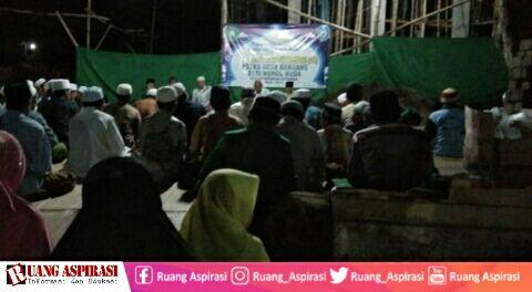 Semarak Malam Pisah Kenang Mahasiswa LPM STAINH di Desa Kandang Situbondo