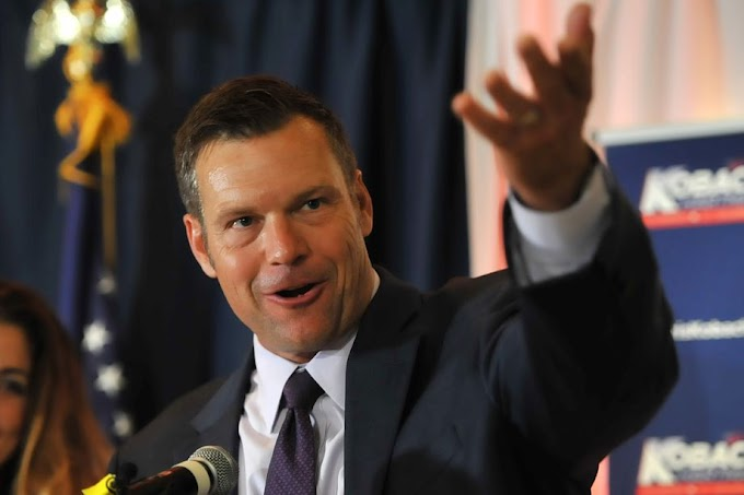 Kansas Gov. Jeff Colyer concedes to Kris Kobach, a week after the state primary
