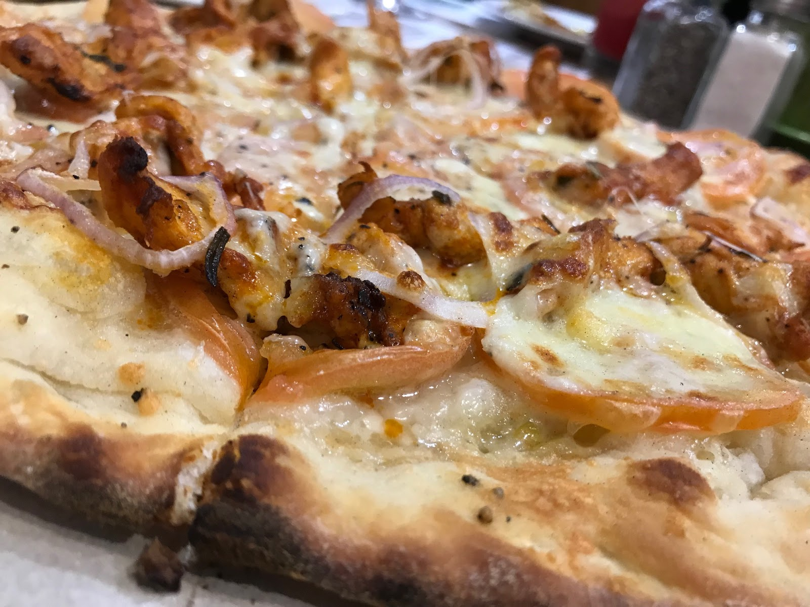I had their rib-eye steak and pizza. They were delicious. There are so many  other dishes served and definitely must try but I was too full from the  steak ... ba78d2ead