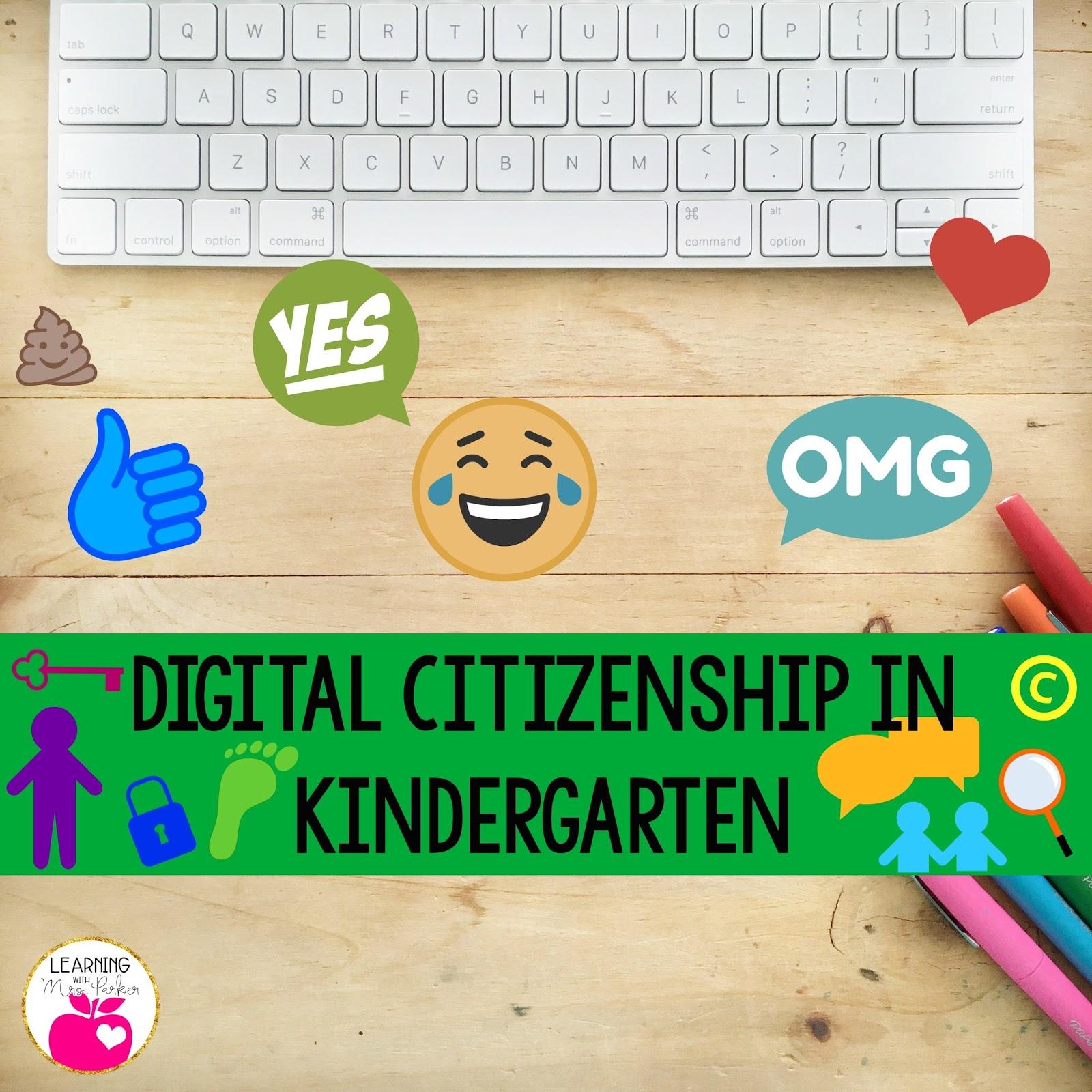 Digital Citizenship In Kindergarten