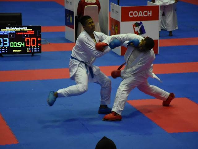 Divif 1 Kostrad Ikuti Kejurnas Karate Piala Panglima TNI VI 2018