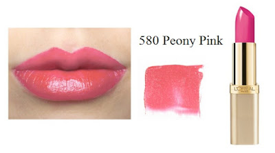 Son Môi L'Oreal Paris Colour Riche Lipcolour 580 Peony Pink - SM006