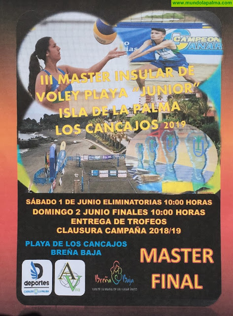 """LOS CANCAJOS: III Master Insular de Voley Playa """"Junior"""""""