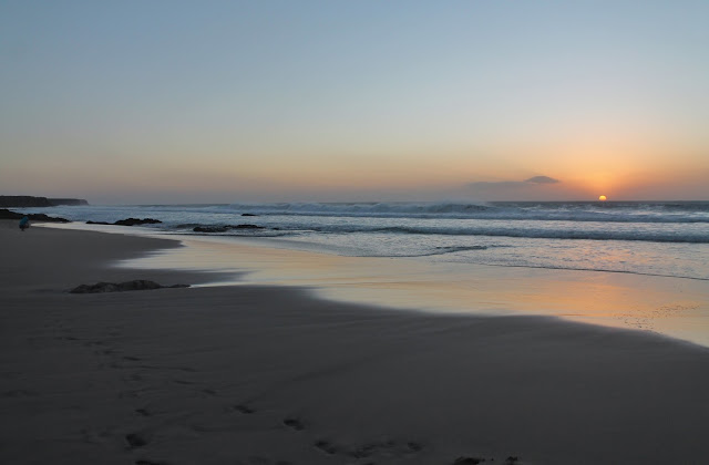 Sunset in Cotillo, Fuerteventura