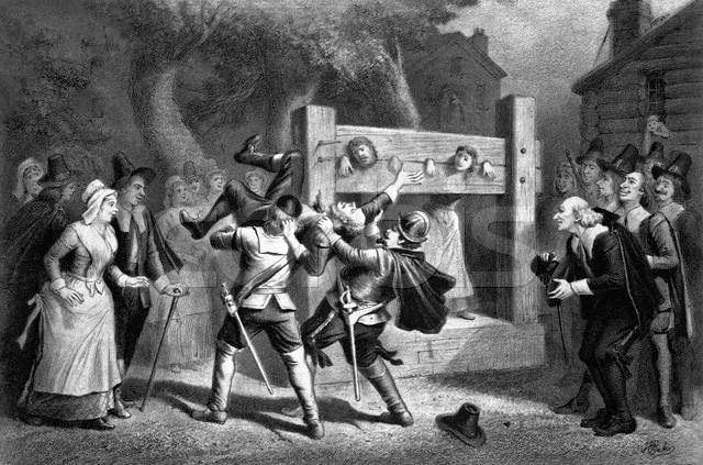 The history of the puritans in new england