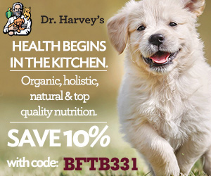 Dr.. Harvey's discount code advertisement