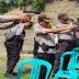 Antisipasi Gangguan Kamtibmas Selama Pemilu 2019, Polres Dompu Latihan Menembak