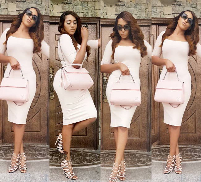 Rukky Sanda steps out in body-fitting mini dress