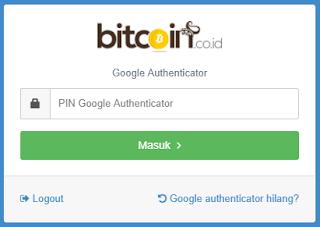 Cara Mengaktifkan Google Authenticator Untuk Akun Bitcoin.co.id - kanginformasi.com