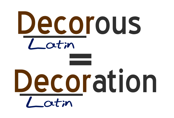Are Decent And Decorous Same Learn With Mind Trick Make Your