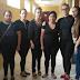 Funcionários vestem preto no último dia de funcionamento do Hospital Santo Antonio
