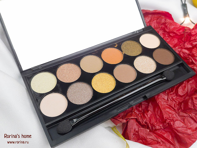 Палетка теней для век Sleek Mineral Based Eyeshadow Palette A New Day отзывы
