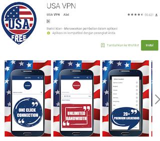 Ulasan Tentang USA VPN Android