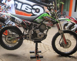 modifikasi klx 150 s