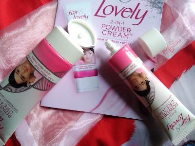 dua size Fair & Lovely 2in1 Powder Cream