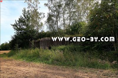 Первый локализованный ДОТ у деревни Великая Раёвка