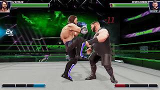 تحميل لعبة WWE Mayhem لعبة المصارعة الحرة للاندرويد اخر اصدار