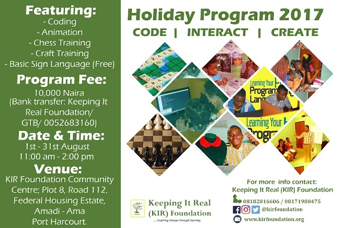 KIR Foundation Holiday Program 2017