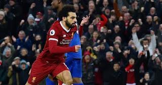 Liverpool Menang 2-1 atas Leicester City
